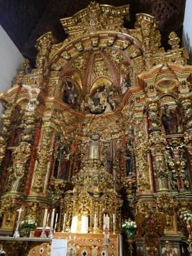 Retablo de la Iglesia de San Ildefonso. Granada. Foto: Francisco López