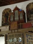 Órgano de San Ildefonso. Granada. Foto: Francisco lópez