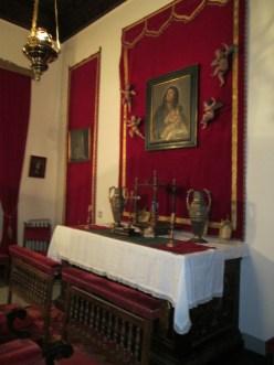 Palacio Müller. Capilla. Gran Vía. Granada. Foto: Francisco López