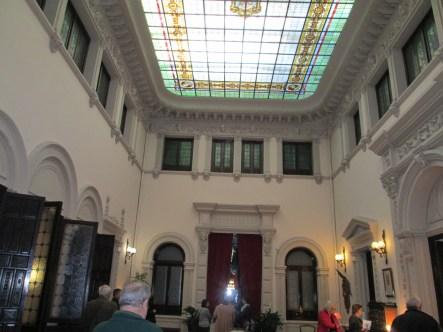 Palacio Müller.Salón superior, antiguo patio. Granada. Foto: Francisco López