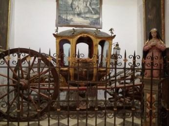 Carroza para llevar el Viático. San Ildefonso. Granada. Foto: Francisco López