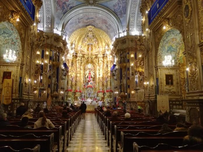 Interior de San Juan de Dios. Granada. Foto: Francisco López