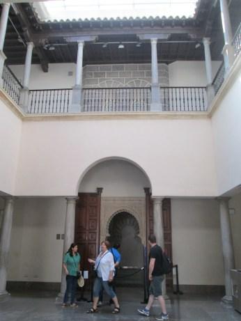 Patio de la Madrassa. Granada. Foto: Francisco López