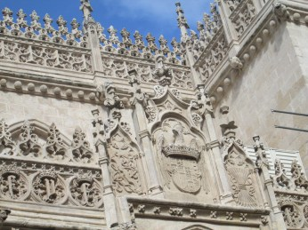 Detalles de la decoración de la capilla real. Granada. Foto: Francisco López