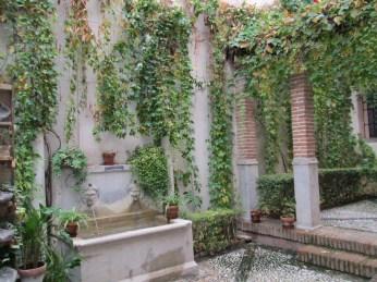 Patio. Casa de los Girones. Realejo. Foto: Francisco López