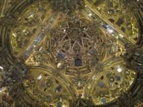 Camarín de la Virgen del Rosario. Cúpula. Foto: Francisco López