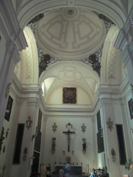 Interior Iglesia de las Carmelitas Descalzas. Granada. Foto: Francisco López