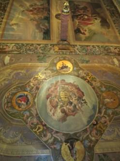 Pinturas murales de la cubierta del Cuarto Rojo