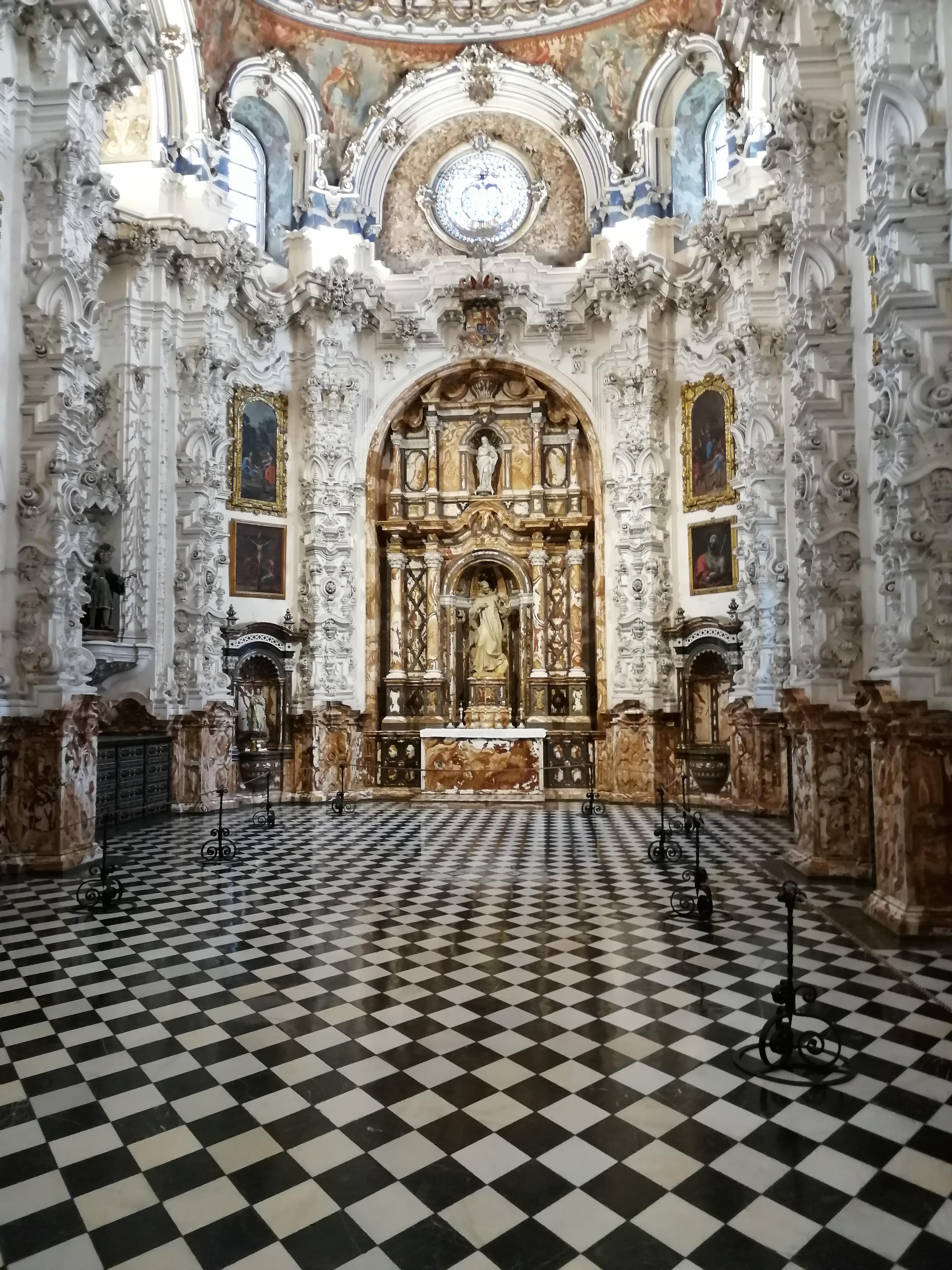 Sacristía Cartuja de la Asunción. Granada