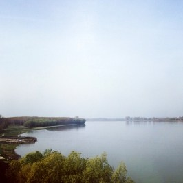 Crossing the Danube / Donau on our way to Bucharest