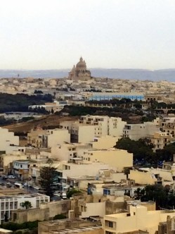 View from the fortress in Rabat on Gozo Island