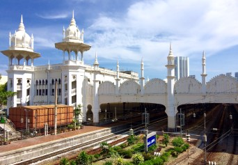 Iconic KL Train Station, British designed with North India Influence