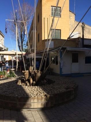 Ledras Street Checkpoint from Levkosa