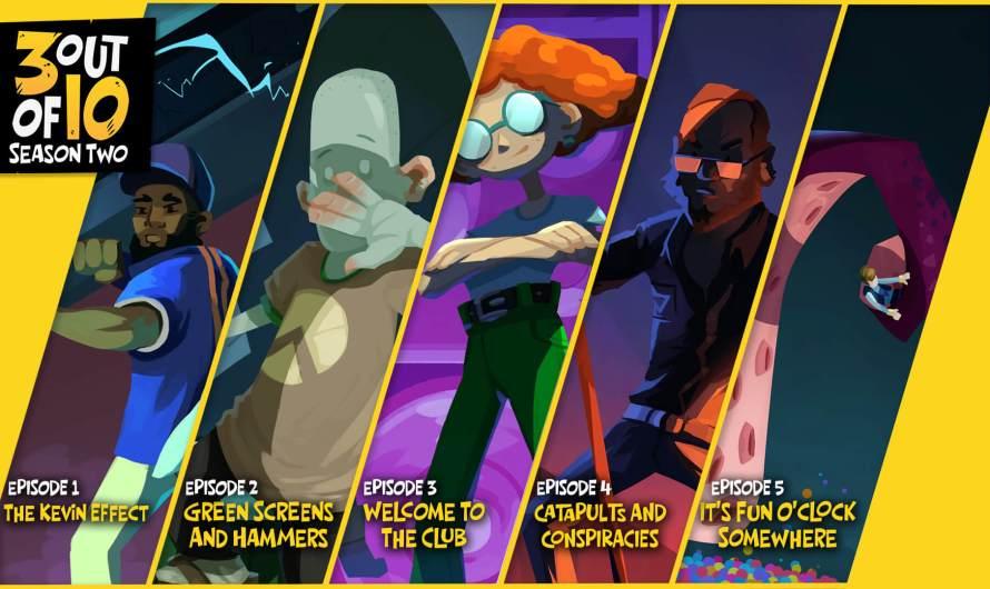 Bons Plans : 3 out of 10 gratuit sur l'Epic Games Store !