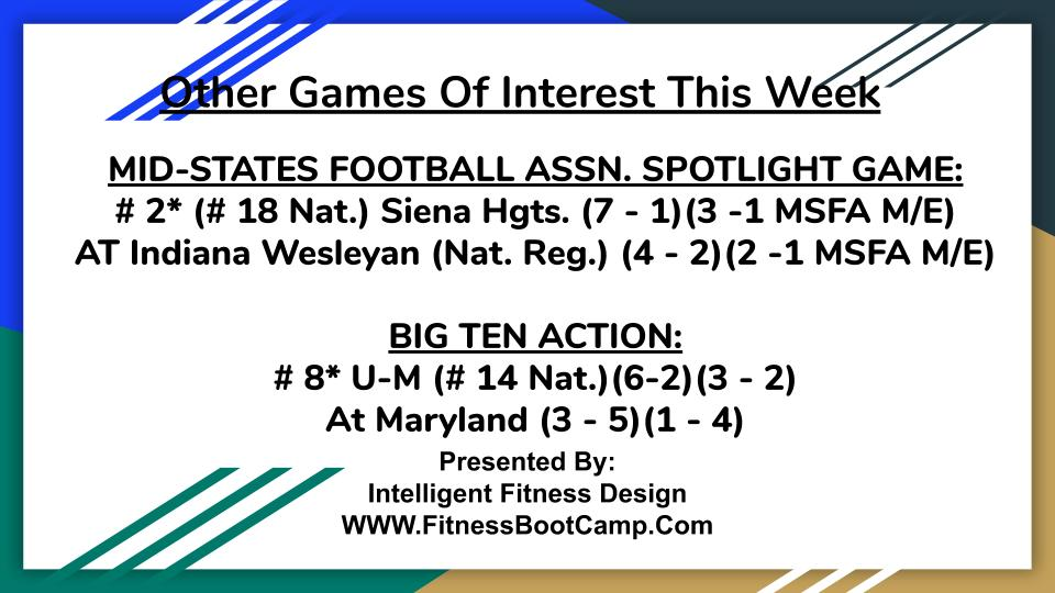 Week 9 Games of Interest (4)