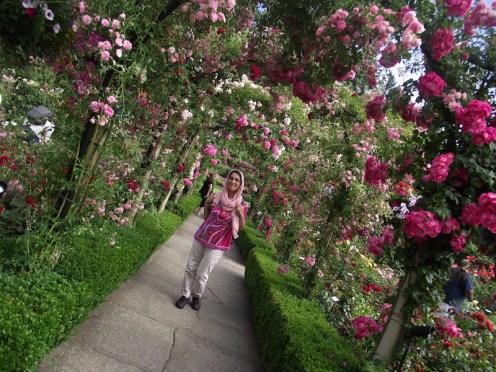 Butchart Gardens 2017: Sepideh