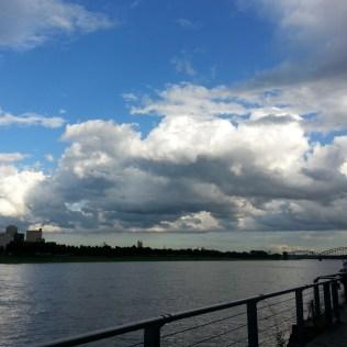 Cloudporn am Rhein