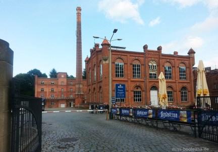 """Das Gelände der Landskron-Brauerei diente als Hafenanlage in """"In 80 Tagen um die Welt"""""""