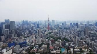 Tokyo Tower von Roppongi Hills aus
