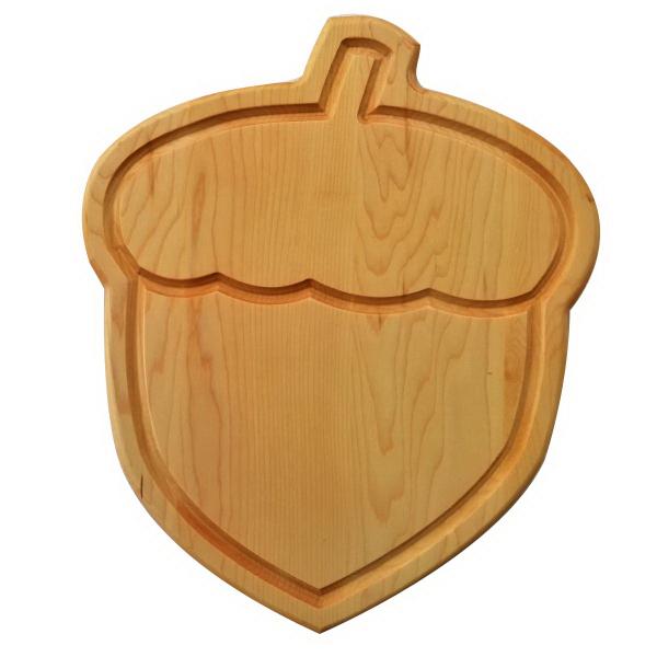 acorn custom cutting board