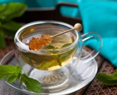 Рецепт маски для лица из зеленого чая