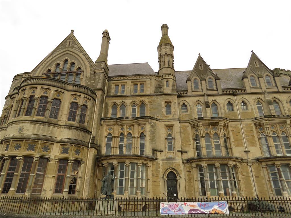 Old College, Aberystwyth, Wales