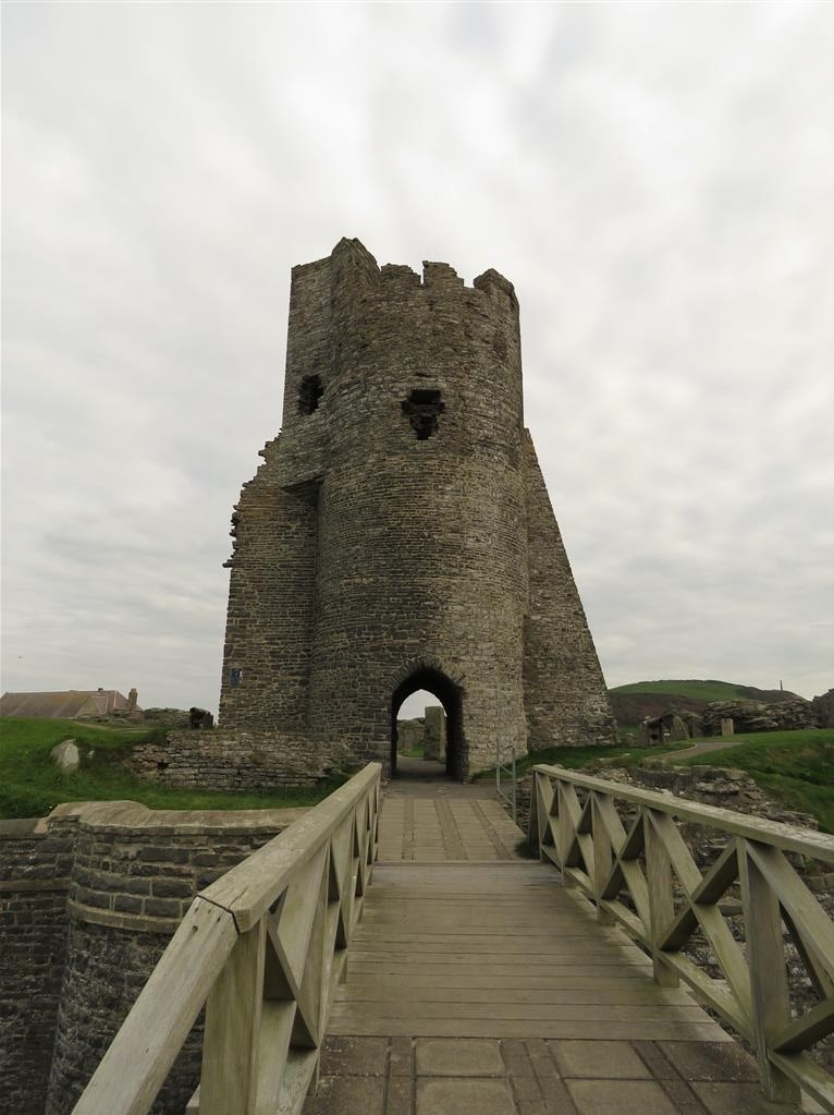 Norman Castle, Aberystwyth, Wales