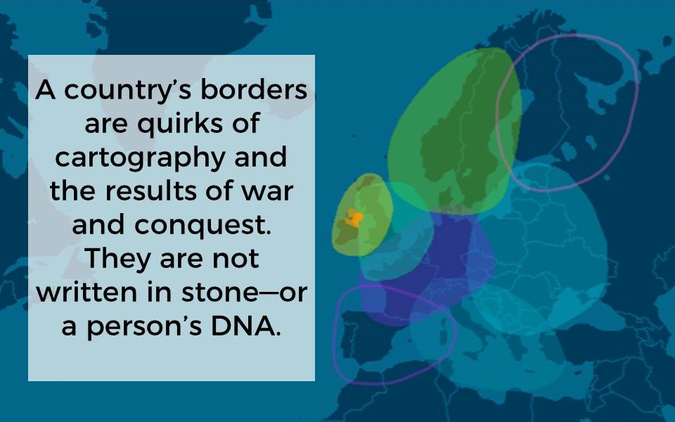 AncestryDNA Map