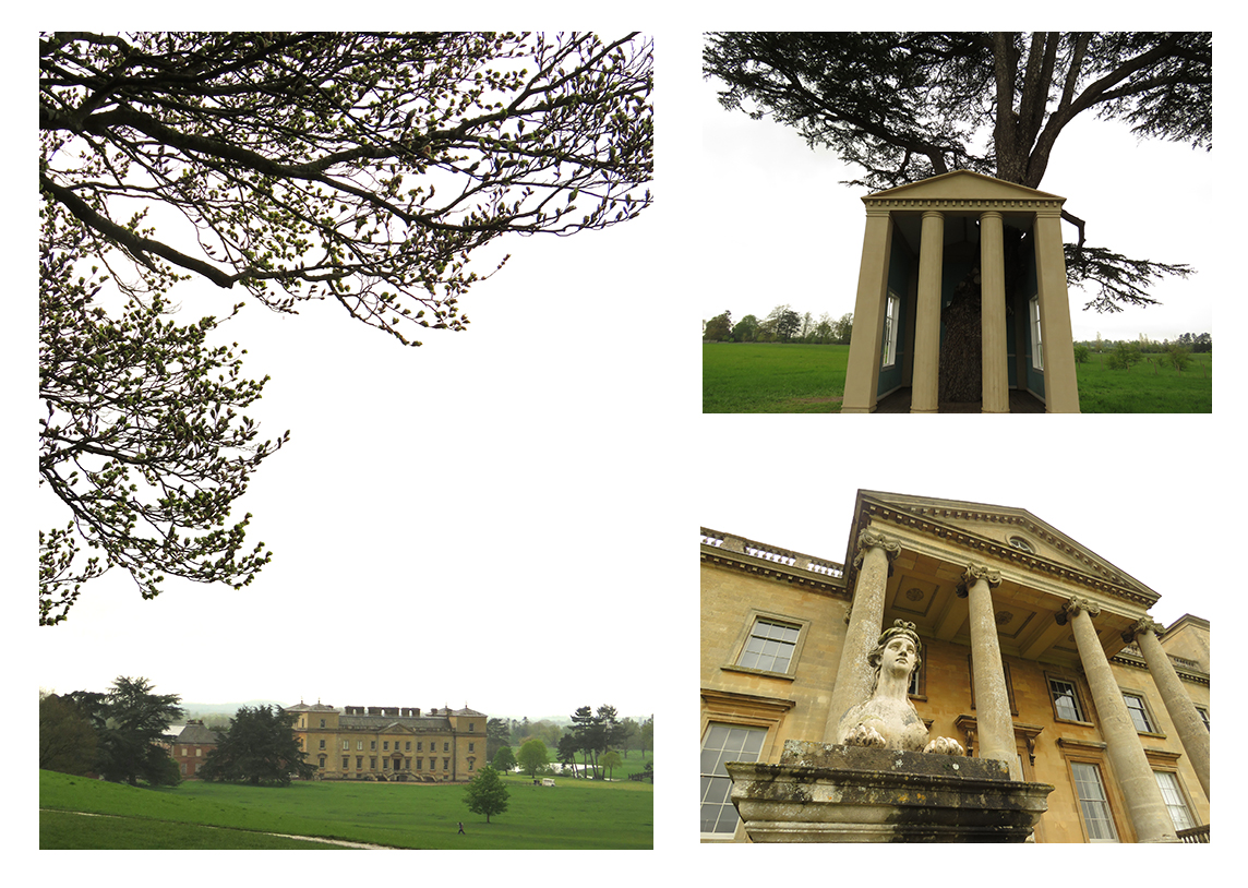 National Trust's Croome Court, a British stately home in the English countryside.