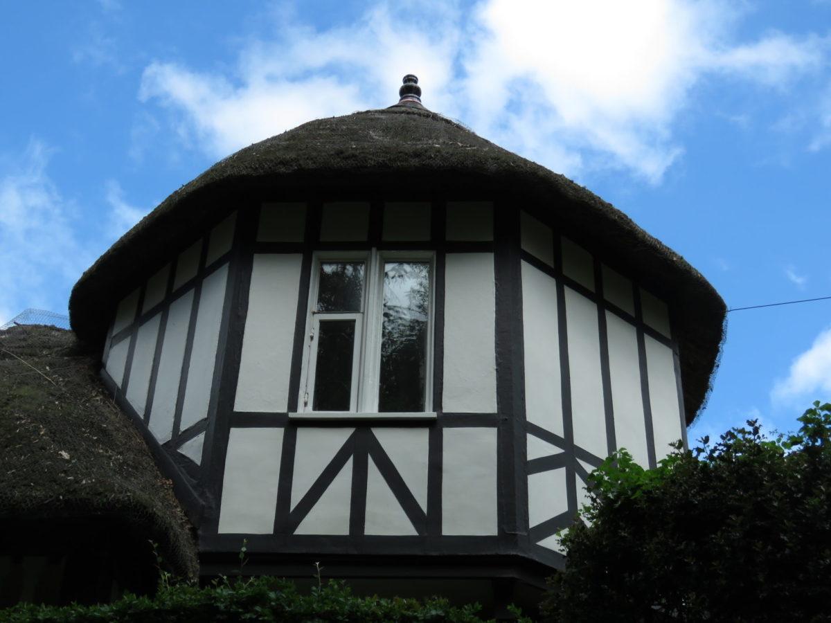 Thatched house, Devon, England