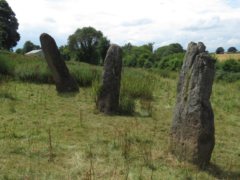 Harold's Stones, Trellech, Wales