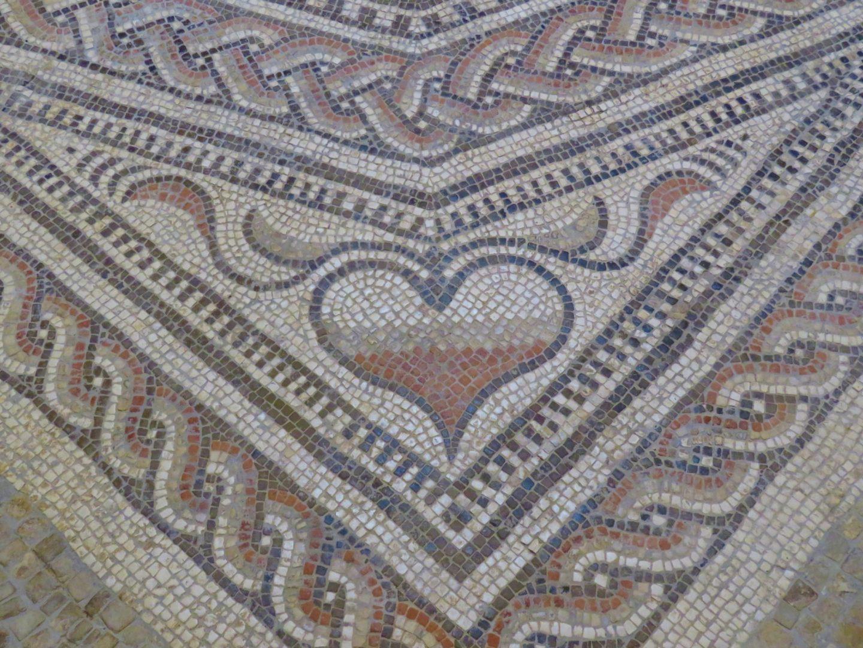 Mosaic Heart, Salisbury Museum