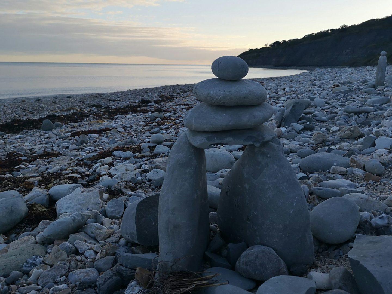 Sunset at Lyme Regis, Dorset, England