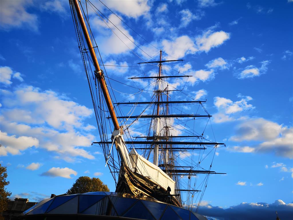 Visiting the Cutty Sark, Greenwich, London