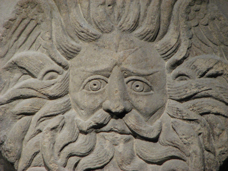Bath Gorgon, Roman Baths, Bath, England