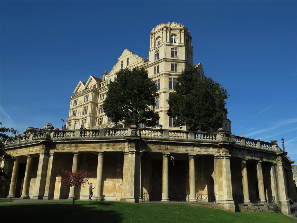 Former Empire Hotel, Bath, England