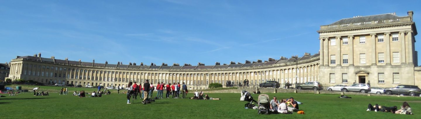 Royal Crescent, Bath, England