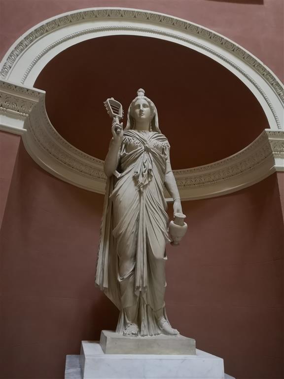 Statue at Stourhead Pantheon
