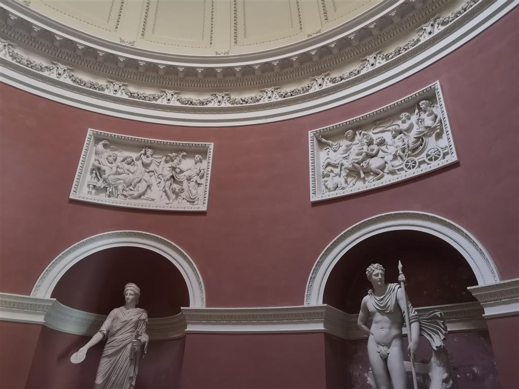 Statues at Stourhead Pantheon