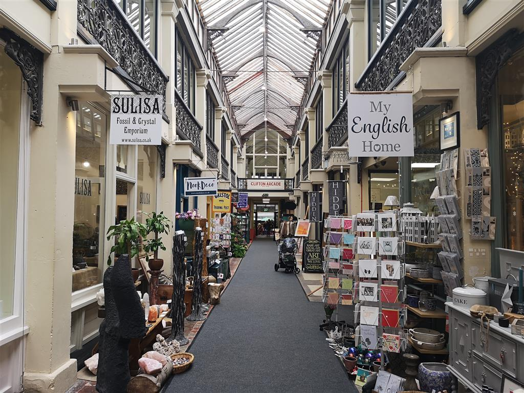 Clifton Shopping Arcade, Bristol, England