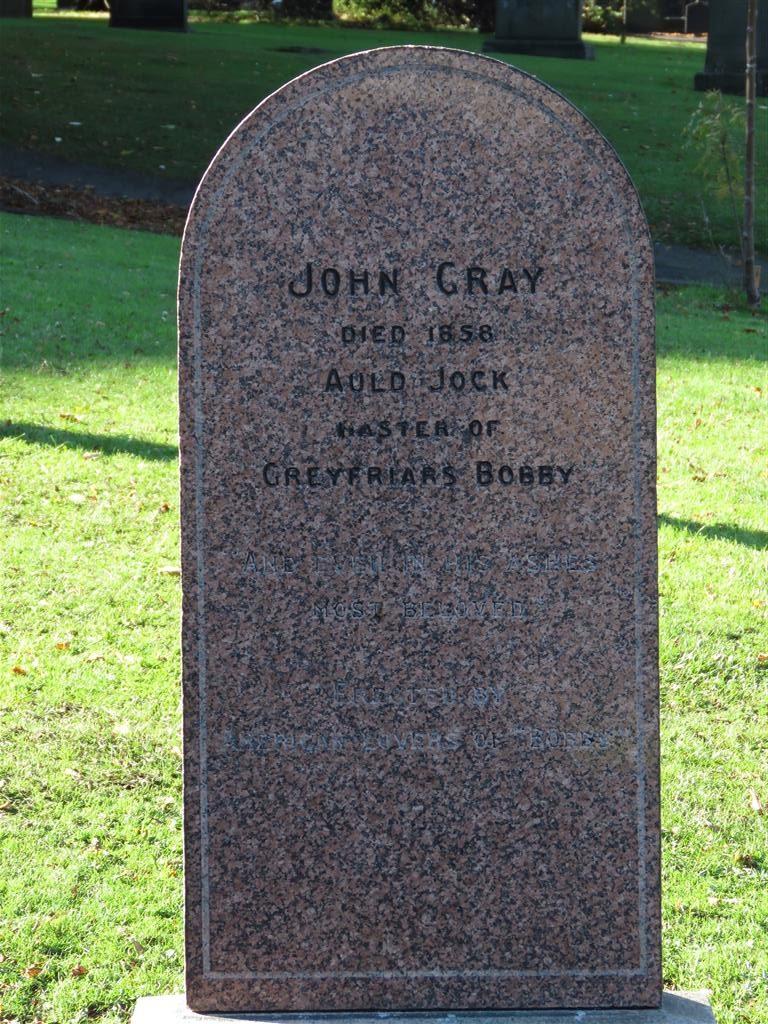 John Gray's Grave, Greyfriars, Edinburgh