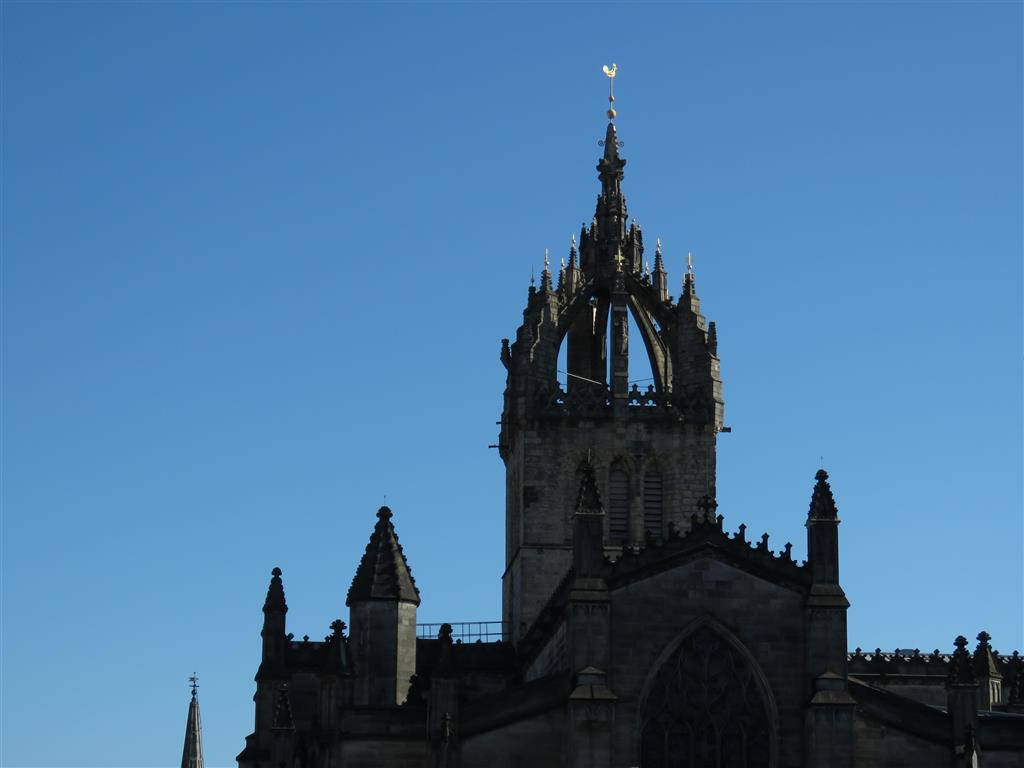 Visiting St. Giles Cathedral, Edinburgh