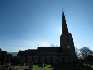 St. Mary's Churchyard, Painswick, Cotswolds