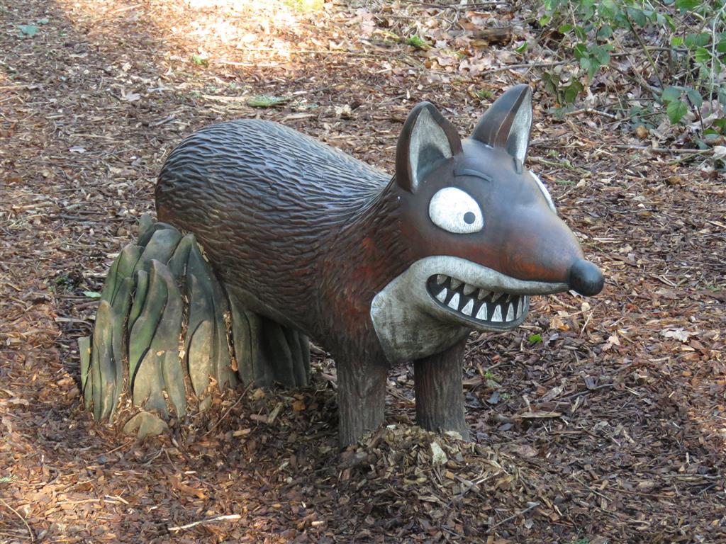 Fox, Zog Trail, Westonbirt Arboretum, Gloucestershire