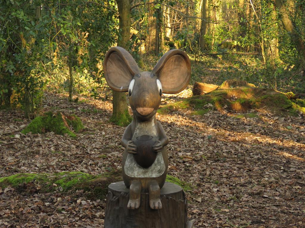 Mouse, Zog Trail, Westonbirt Arboretum, Gloucestershire