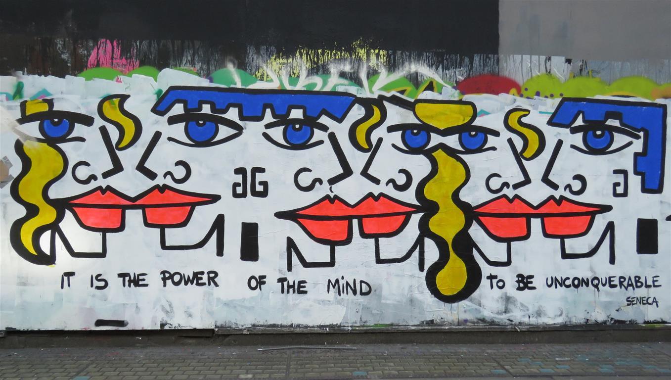 Street art in Soho, London by Anna Laurini