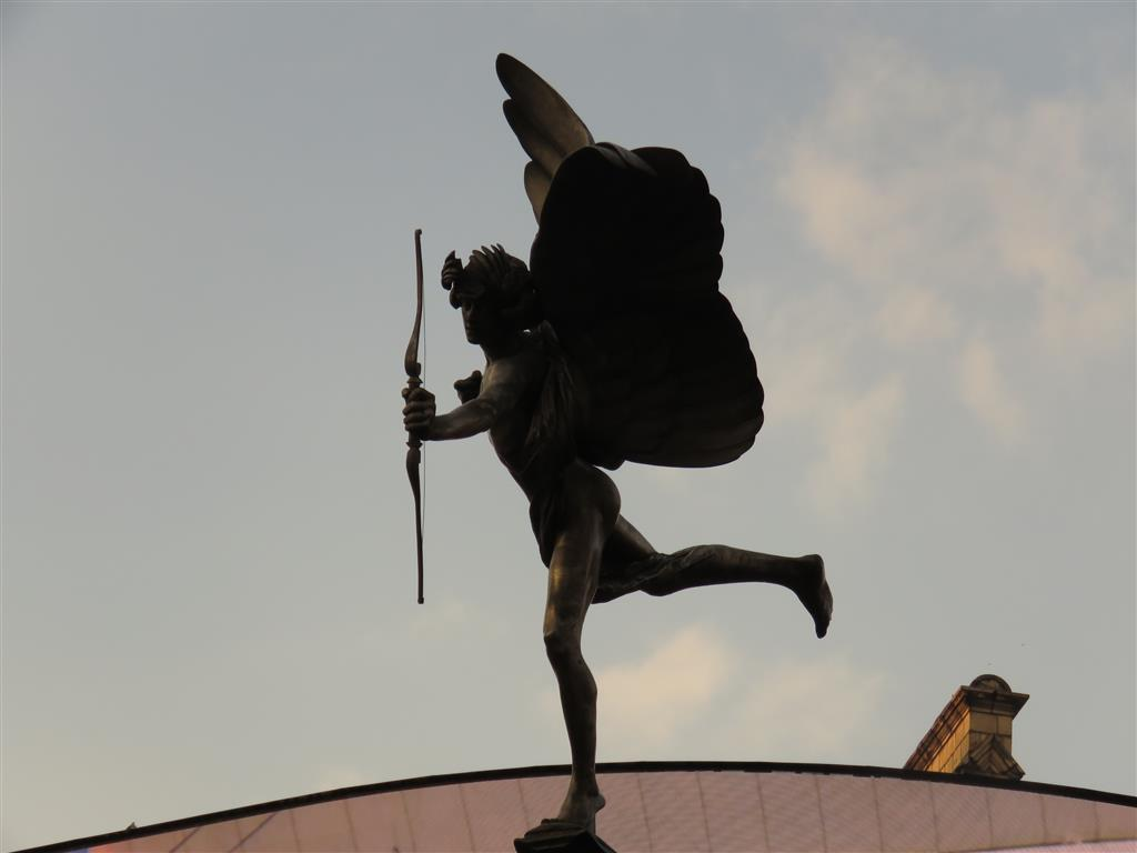 Eros Sculpture, Piccadilly Circus, London
