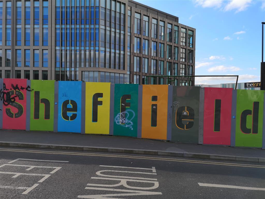 Visiting Sheffield, Yorkshire, UK