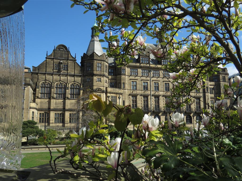 Sheffield Peace Gardens, UK