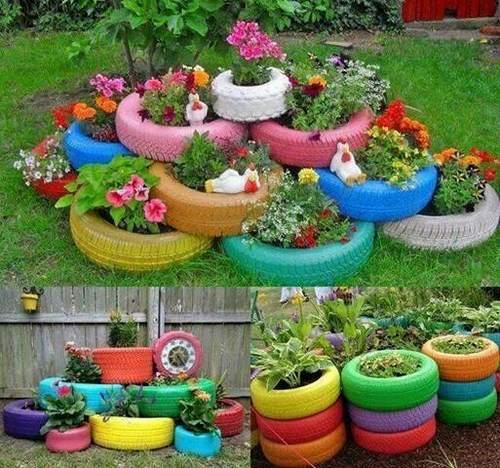 jardin ou la terrasse